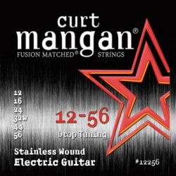 CURT MANGAN 12-56 Stainless Steel Drop Tuning struny