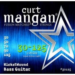 CURT MANGAN 30-125 Nickel Bass 5-String