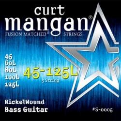 CURT MANGAN 45-125 Nickel Wound Bass Long
