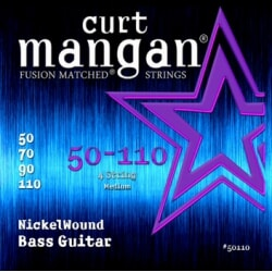 CURT MANGAN 50-110 Nickel Wound Medium Bass