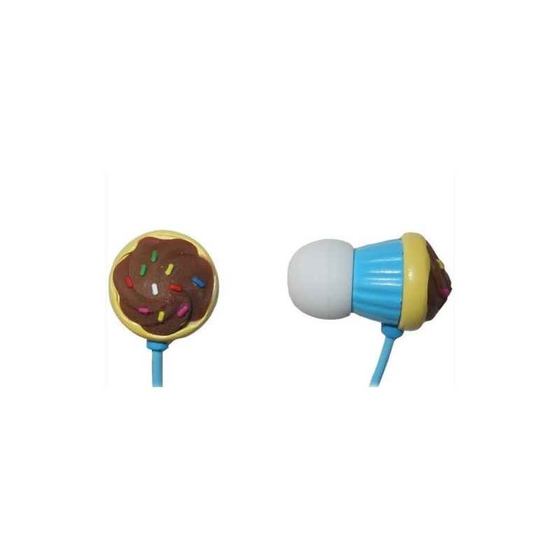 MAXELL CUPCAKE EARPHONE BLUE