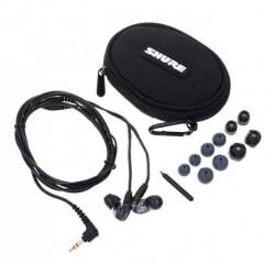 SHURE SE215-K profesjonalne słuchawki douszne czarne