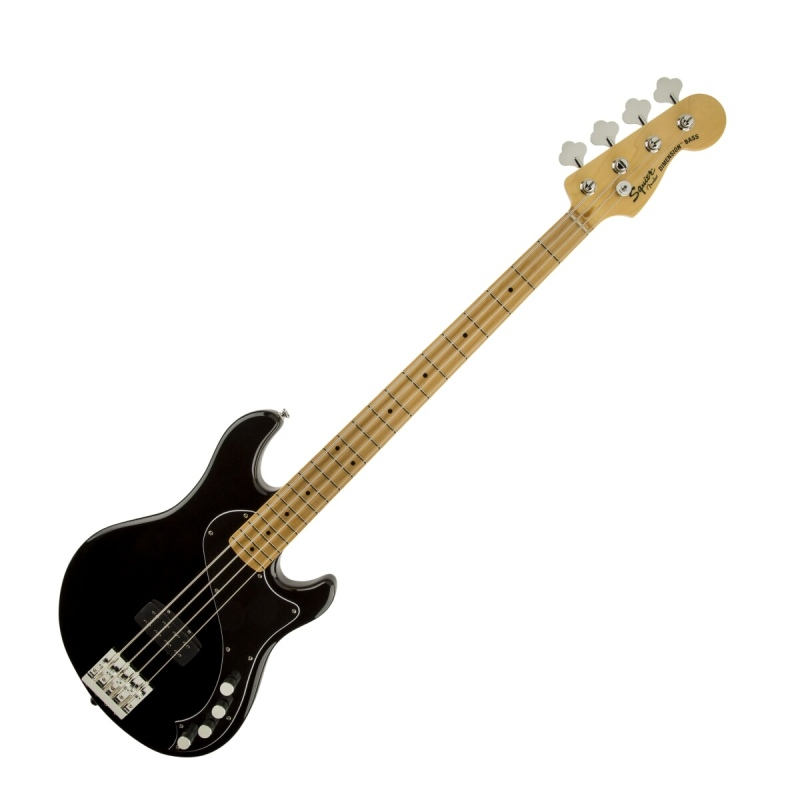 FENDER SQUIER DELUXE DIMENSION BASS IV MN BLK