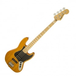 FENDER SQUIER VINTAGE MODIFIED JAZZ BASS 77 AMB