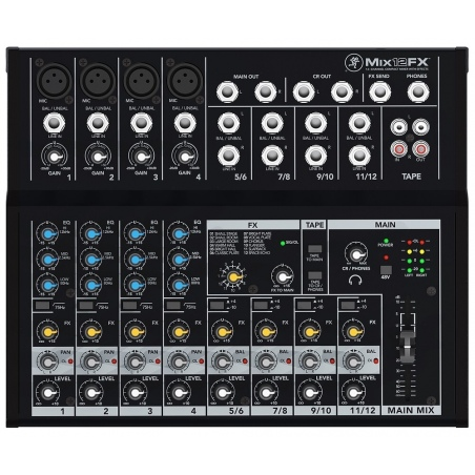 MACKIE MIX 12 FX 12-kanałowy mikser dźwięku