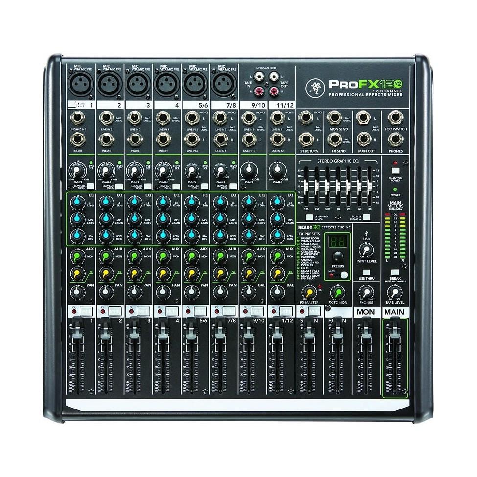 MACKIE PROFX 12 V2 12-kanałowy mikser dźwięku z efektami