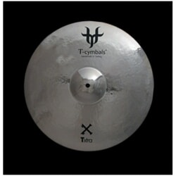 T-CYMBALS TXTRA MEDIUM CRASH 17""
