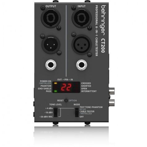 BEHRINGER CT200 tester przewodów / kabli
