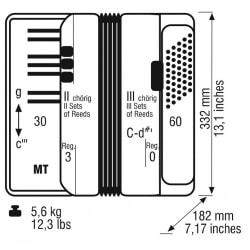 WELTMEISTER RUBIN 30/60/II/3 WHITE