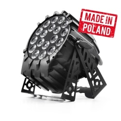 FLASH LED PAR 64 18x10W RGBW