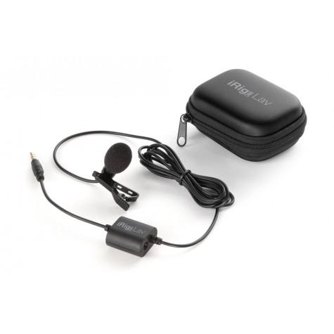 IK MULTIMEDIA IRIG MIC LAV mikrofon pojemnościowy elektretowy