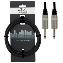 ALPHA AUDIO kabel głośnikowy Jack Mono - Jack Mono  1 m