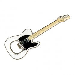 FENDER BOTTLE  OPEN TELE WHITE OTWIERACZ