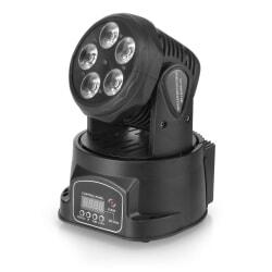 FLASH LED 5X15W 5W1 RGBW+UV głowica ruchoma