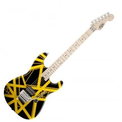 EVH STRIPED SERIES BLK/YLW