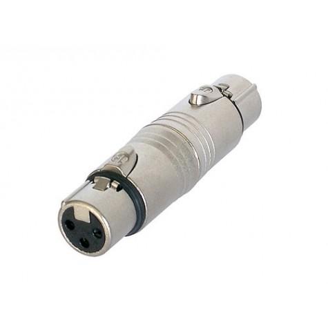 NEUTRIK NA3FF przejściówka (łącznik) adapter XLR żeński - XLR żeński