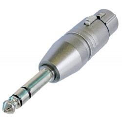 NEUTRIK NA3FP przejściówka /  adapter wtyk XLR żeński - duży Jack stereo