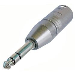 NEUTRIK NA3MP przejściówka /  adapter wtyk XLR męski - duży Jack stereo