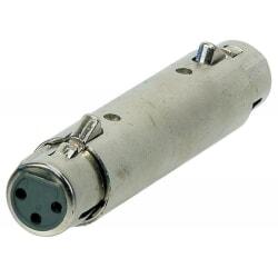 ALPHA AUDIO adapter / przejściówka / złącze XLR żeński