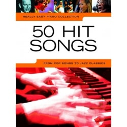PWM 50 HIT SONGS REALLY EASY PIANO COLLECTION