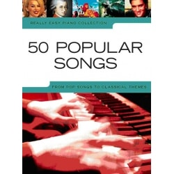 PWM 50 POP SONGS REALLY EASY PIANO COLLECTION