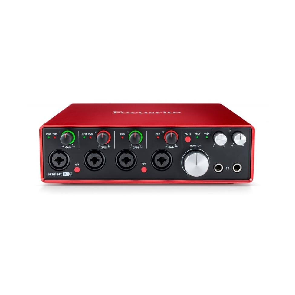 FOCUSRITE SCARLETT 18I8 2 GEN interfejs audio