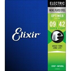 ELIXIR OPTIWEB 0942 19002 struny do gitary elektrycznej