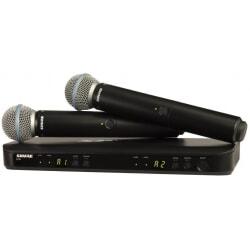 SHURE BLX 288E/B58 zestaw bezprzewodowy z dwoma mikrofonami