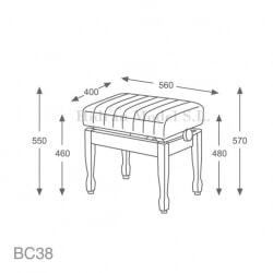 HM BC38M WALNUT 1 GLOSS (100)