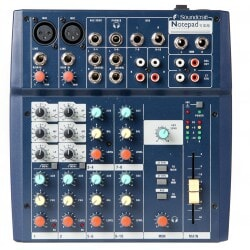 SOUNDCRAFT  NOTEPAD 102