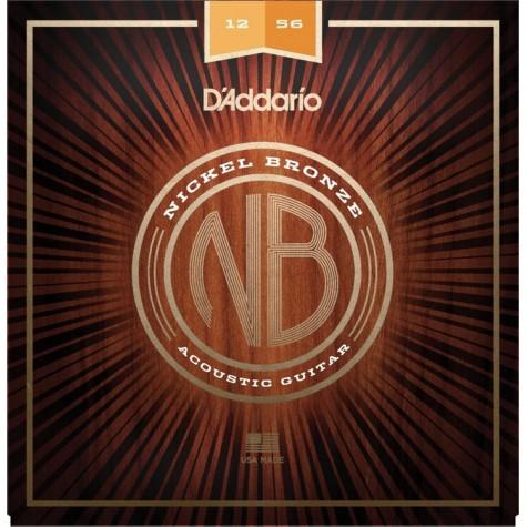 DADDARIO NB 12-56 - Struny do gitary akustycznej