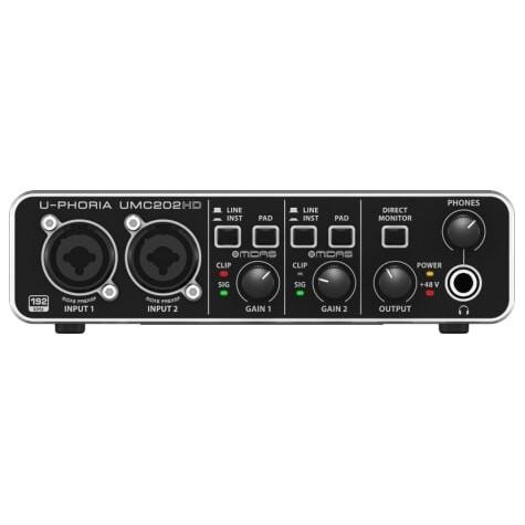 BEHRINGER U-PHORIA UMC202HD interfejs audio