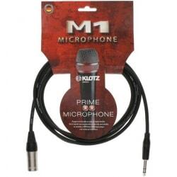 KLOTZ M1MS1K0300 kabel mikrofonowy XLR męski /duży Jack stereo 3 m