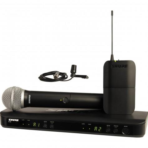 SHURE BLX 1288E/CVL zestaw bezprzewodowy z mikrofonem krawatowym i doręcznym