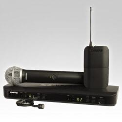 SHURE BLX 1288E/PG85 zestaw bezprzewodowy z mikrofonem krawatowym i doręcznym