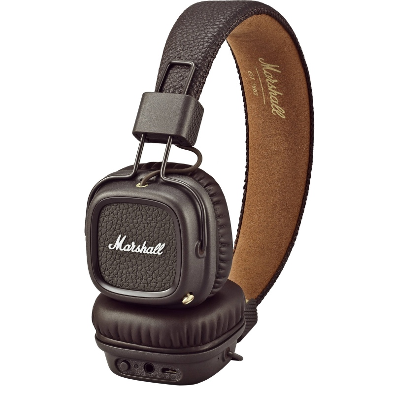 MARSHALL MAJOR II BLUETOOTH BROWN słuchawki