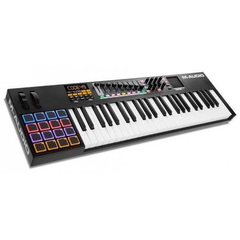 M-AUDIO CODE 49 BLACK klawiatura sterująca z padami