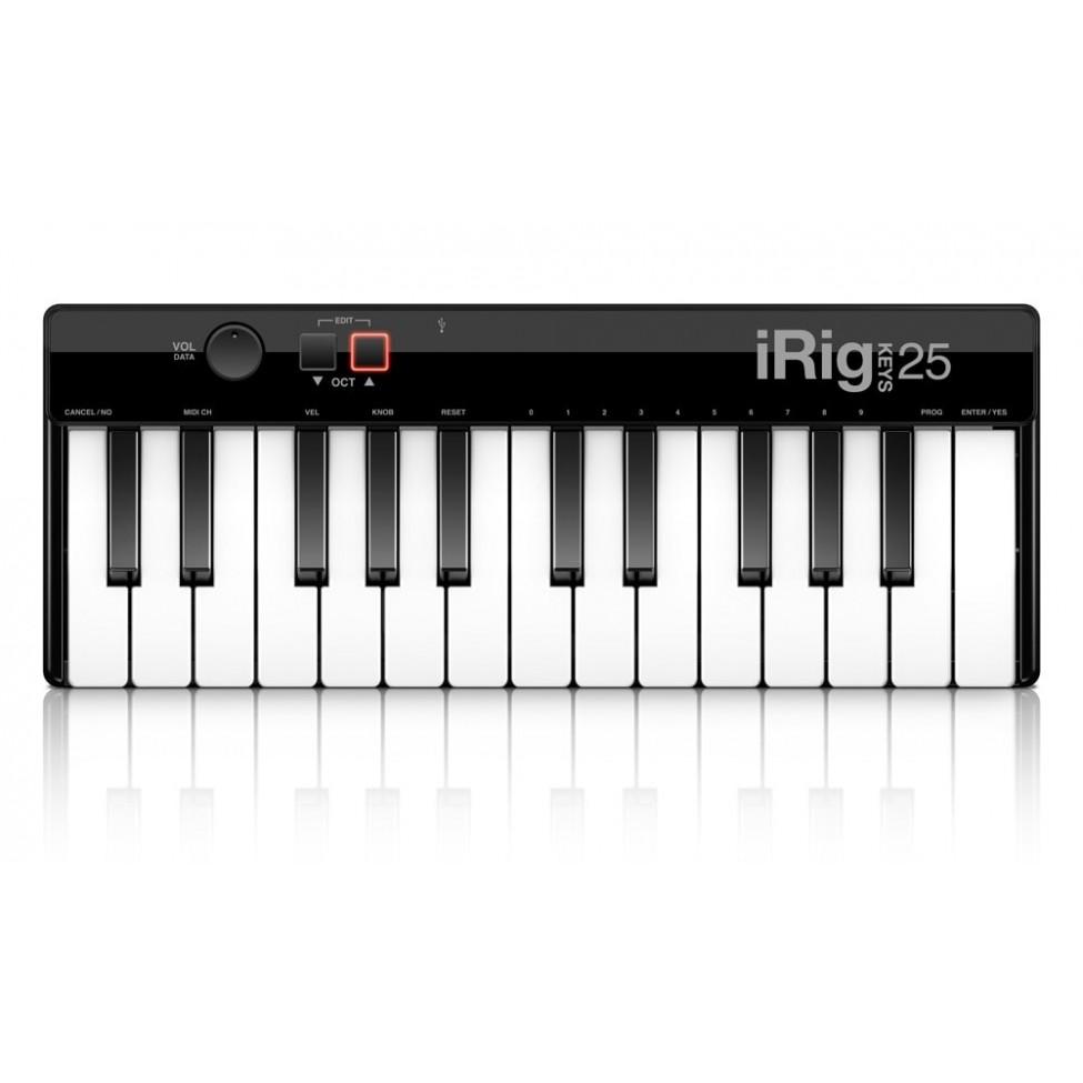 IK MULTIMEDIA IRIG KEYS 25 przenośny kontroler USB MIDI