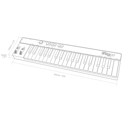 IK IRIG KEYS 37 kontroler MIDI USB