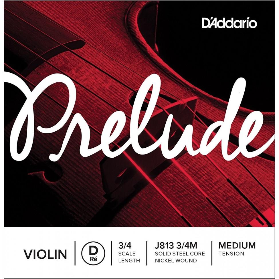 D'ADDARIO PRELUDE STRUNA D  J813 3/4
