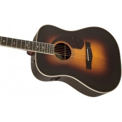 FENDER PARAMOUNT PM-1 DELUXE DREADNOUGHT SBST