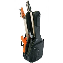 IBANEZ IGAB2621-BK podwójny pokrowiec na gitarę elektryczną / akustyczną
