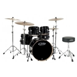 PDP DRUMSET MAINSTAGE BLACK PD802.600