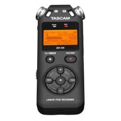 TASCAM DR-05 rejestrator plików WAV/MP3
