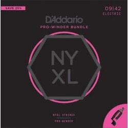D'ADDARIO NYXL0942-PW struny + korbka wielofunkcyjna
