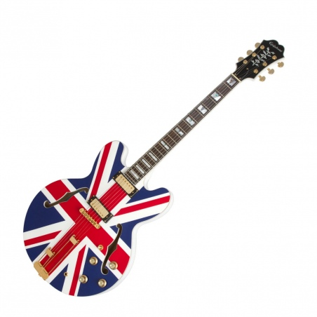 EPIPHONE UNION JACK SHERATON LIMITED EDITION