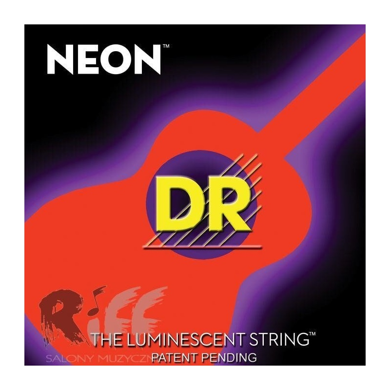 dr noa12 neon orange acoustic