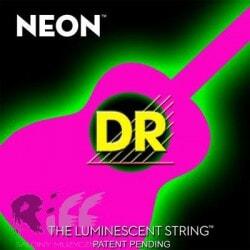 DR NPA-11 NEON PINK ACOUSTIC