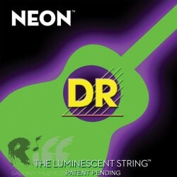 DR NGA-11 NEON GREEN ACOUSTIC