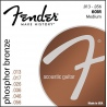 FENDER 60M PHOSPHOR BRONZE 13-56
